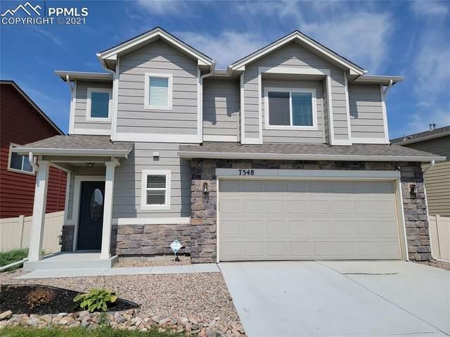 7548 Benecia Drive, Fountain, CO 80817 (#2219309) :: Venterra Real Estate LLC