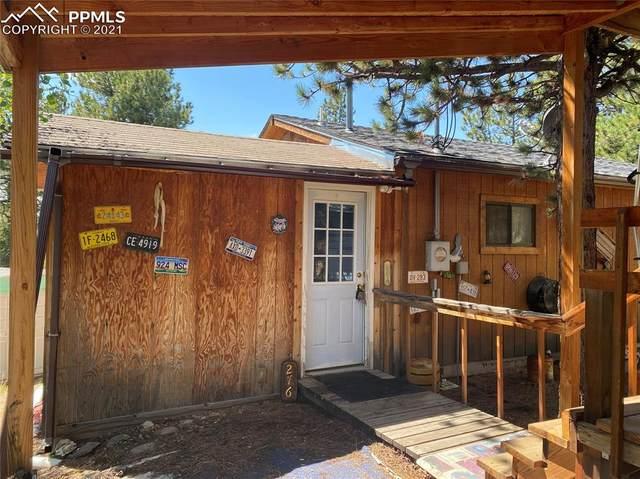 276 Blackhawk Creek Drive, Florissant, CO 80816 (#2235658) :: Action Team Realty