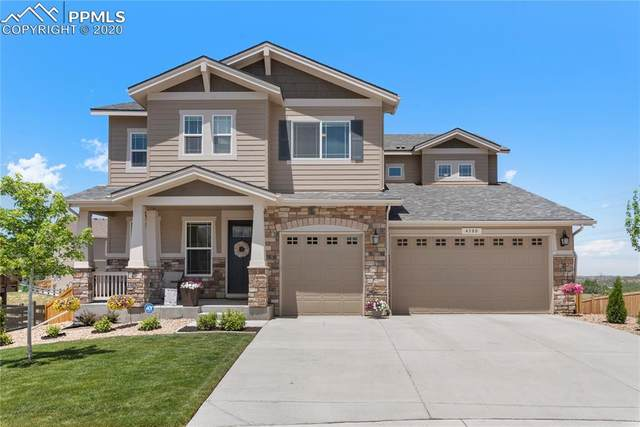 4380 Sidewinder Loop, Castle Rock, CO 80108 (#2593564) :: The Treasure Davis Team