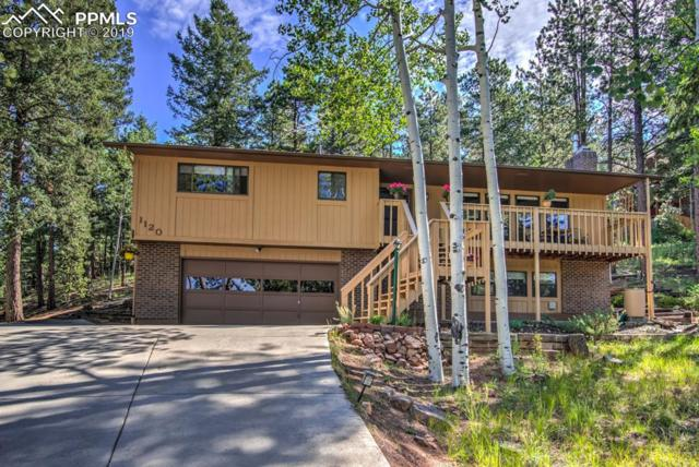 1120 Pine Ridge Road, Woodland Park, CO 80863 (#2682687) :: Perfect Properties powered by HomeTrackR