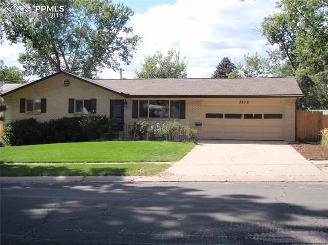 2202 Clarkson Drive, Colorado Springs, CO 80909 (#2700243) :: The Kibler Group
