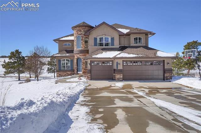 17656 Cabin Hill Lane, Colorado Springs, CO 80908 (#2783110) :: The Treasure Davis Team