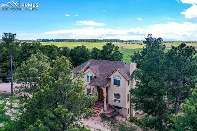 21285 Comanche Creek Drive, Elbert, CO 80106 (#2833236) :: The Kibler Group