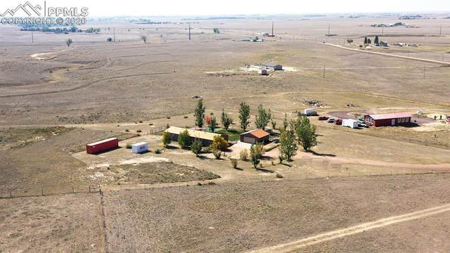 11223 N Ellicott Highway, Calhan, CO 80808 (#2949368) :: The Treasure Davis Team
