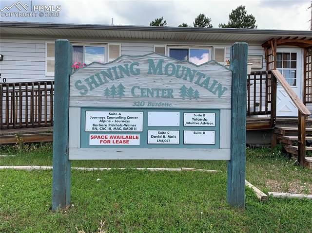 320 S Burdette Street, Woodland Park, CO 80863 (#2952683) :: The Scott Futa Home Team