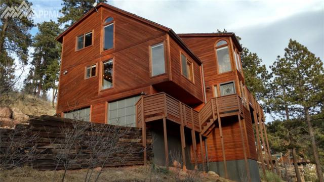 1158 Ponderosa Way, Woodland Park, CO 80863 (#3321500) :: Jason Daniels & Associates at RE/MAX Millennium