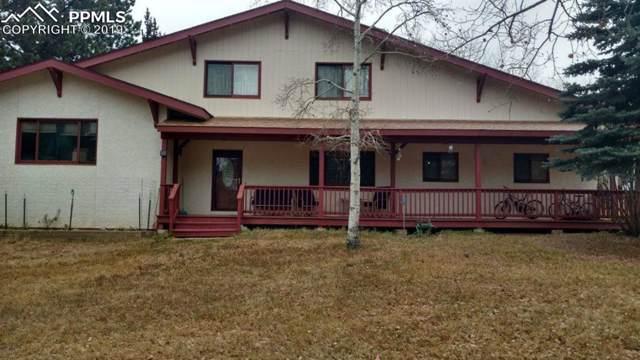 1907 Sunshine Circle, Woodland Park, CO 80863 (#3377709) :: 8z Real Estate