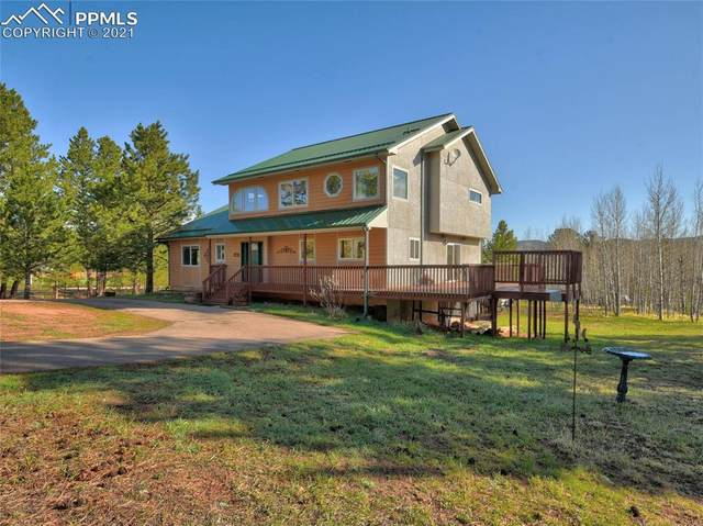 1247 Mountain Meadows Drive, Woodland Park, CO 80863 (#3445460) :: Fisk Team, RE/MAX Properties, Inc.