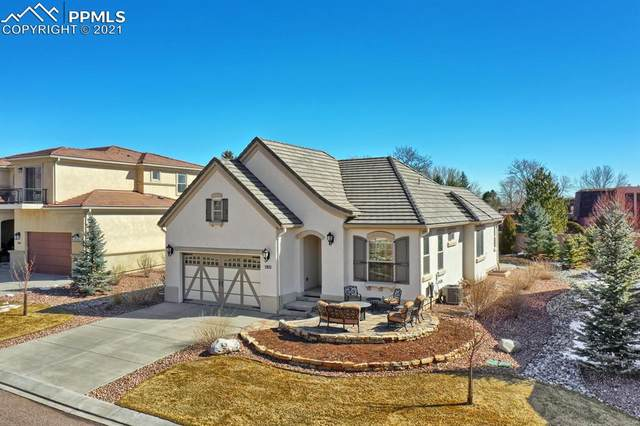 2933 Cathedral Park View, Colorado Springs, CO 80904 (#3535754) :: The Dixon Group