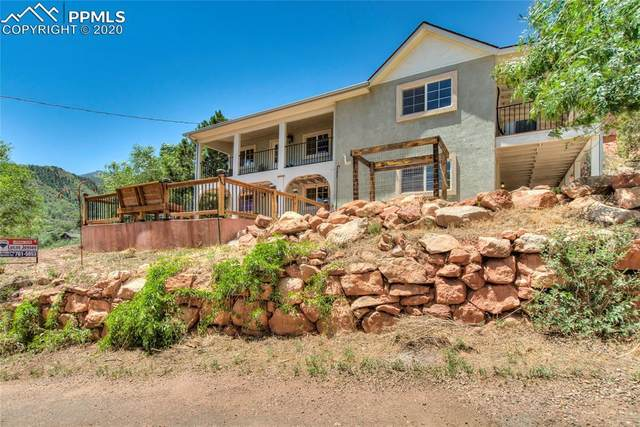 46 Cedar Lane, Manitou Springs, CO 80829 (#3701917) :: Finch & Gable Real Estate Co.