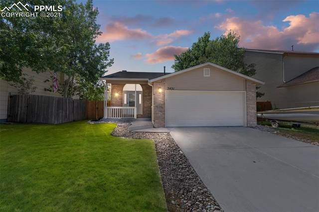 3451 Mountainside Drive, Colorado Springs, CO 80918 (#3722453) :: Action Team Realty