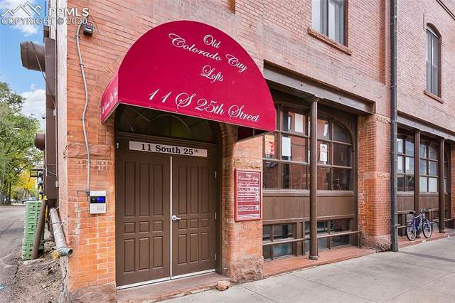 11 S 25th Street #335, Colorado Springs, CO 80904 (#3799519) :: The Treasure Davis Team