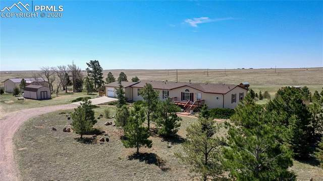 9715 Mulberry Road, Calhan, CO 80808 (#3889628) :: The Treasure Davis Team