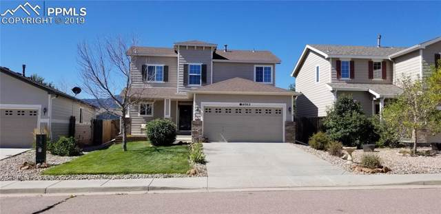 14302 Woodrock Path, Colorado Springs, CO 80921 (#3903521) :: The Treasure Davis Team