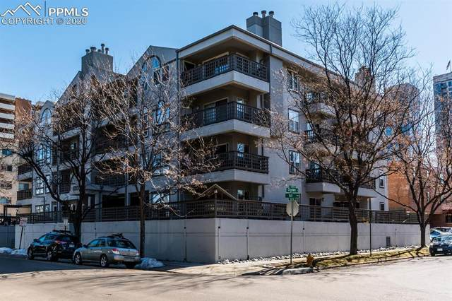 1000 E 1st Avenue #206, Denver, CO 80218 (#4027157) :: Finch & Gable Real Estate Co.