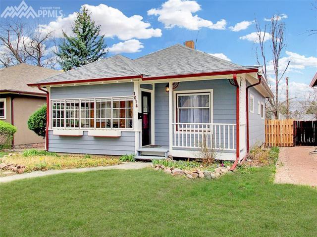 1014 N Cedar Street, Colorado Springs, CO 80903 (#4207025) :: Jason Daniels & Associates at RE/MAX Millennium