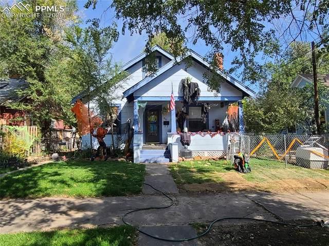416 E San Rafael Street, Colorado Springs, CO 80903 (#4276713) :: The Kibler Group