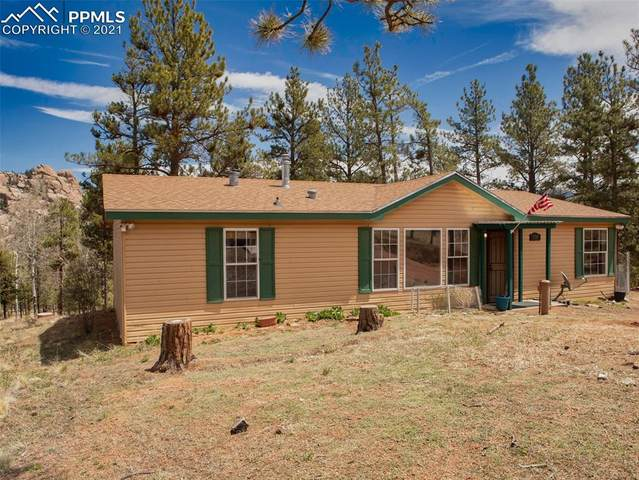 179 Highland Meadows Drive, Florissant, CO 80816 (#4409000) :: The Daniels Team