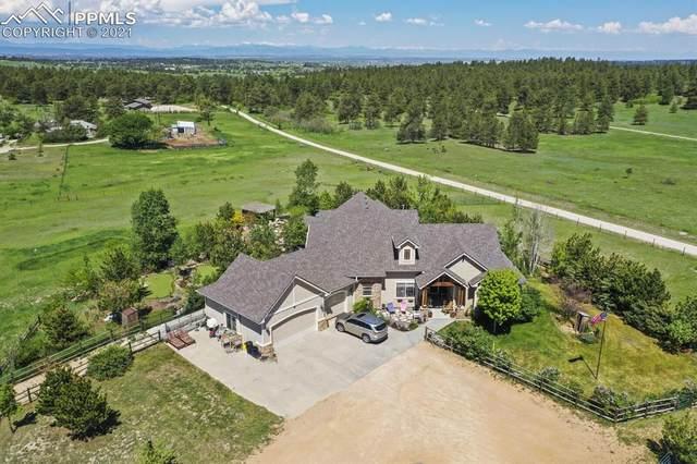 455 Bayou Gulch Circle, Elizabeth, CO 80107 (#4664277) :: Tommy Daly Home Team