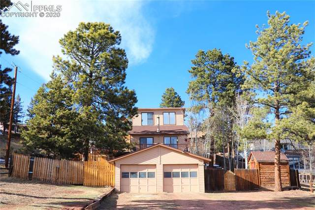 500 E Gunnison Avenue, Woodland Park, CO 80863 (#4784552) :: The Kibler Group