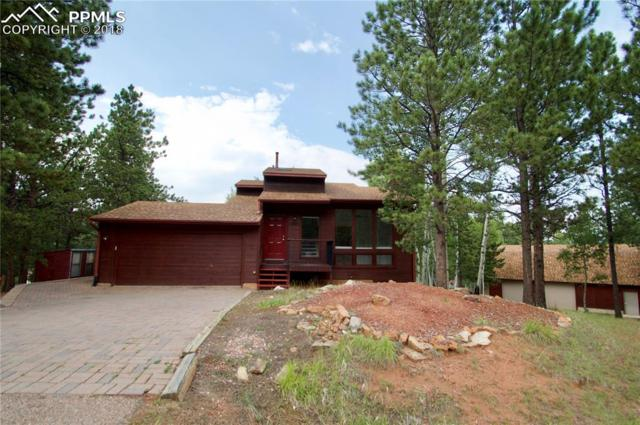 1250 Northwoods Drive, Woodland Park, CO 80863 (#4796613) :: The Treasure Davis Team