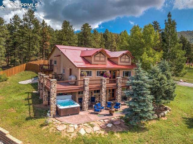 220 Thunder Ridge Drive, Woodland Park, CO 80863 (#4880660) :: Tommy Daly Home Team