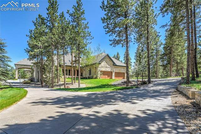 1215 Kylie Heights Heights, Woodland Park, CO 80863 (#5015120) :: Fisk Team, eXp Realty