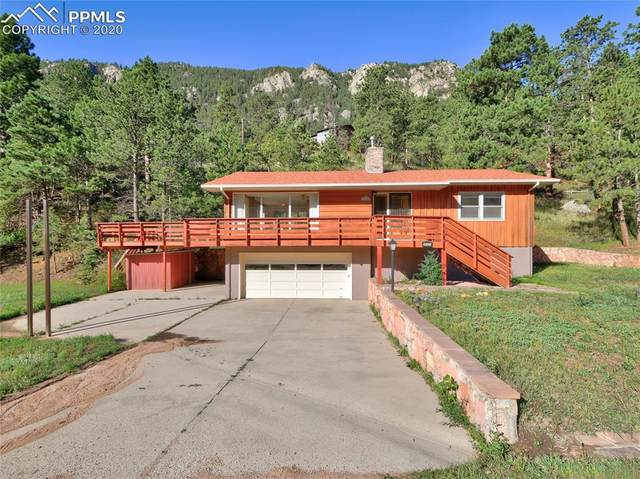 10125 Chipita Park Road, Cascade, CO 80809 (#5445590) :: The Treasure Davis Team