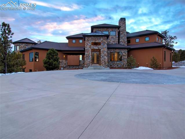 14350 Millhaven Place, Colorado Springs, CO 80908 (#5495835) :: Jason Daniels & Associates at RE/MAX Millennium