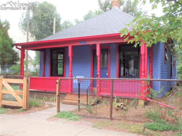 416 N Franklin Street, Colorado Springs, CO 80903 (#5608653) :: Colorado Home Finder Realty