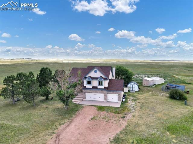 23555 Sweet Road, Calhan, CO 80808 (#5620894) :: Action Team Realty