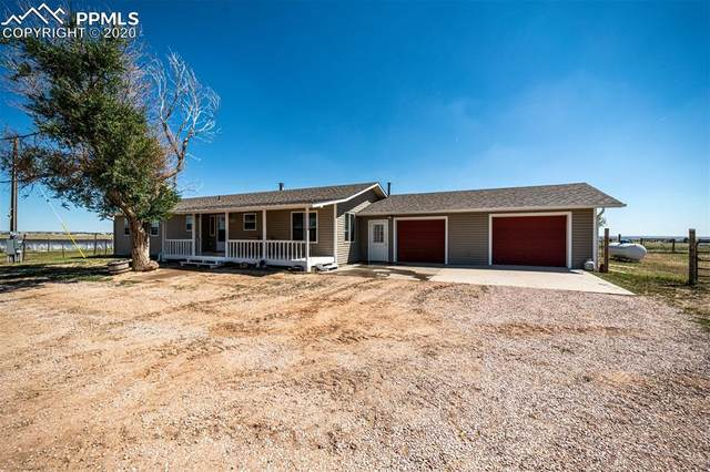 5939 N Log Road, Calhan, CO 80808 (#5655225) :: The Treasure Davis Team