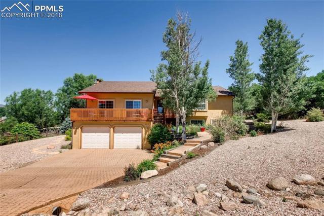 160 Rangely Drive, Colorado Springs, CO 80921 (#5661228) :: The Hunstiger Team