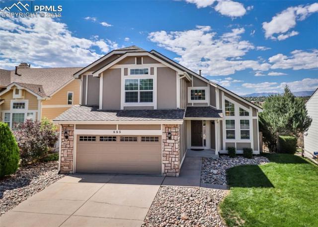 885 Piros Drive, Colorado Springs, CO 80922 (#5695243) :: The Treasure Davis Team