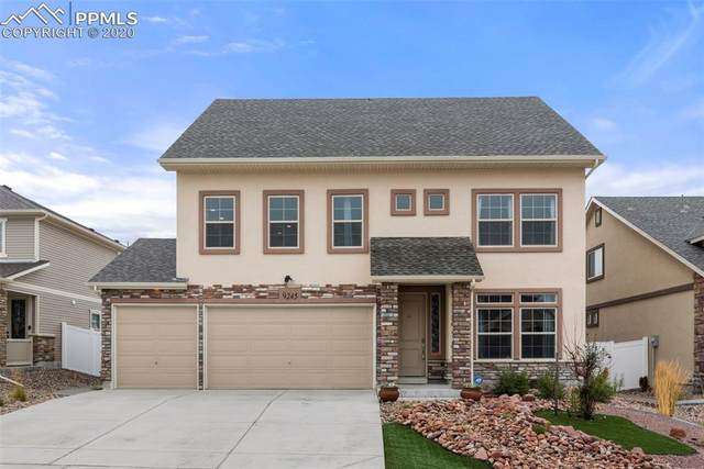 9245 Castle Oaks Drive, Fountain, CO 80817 (#5740677) :: The Treasure Davis Team