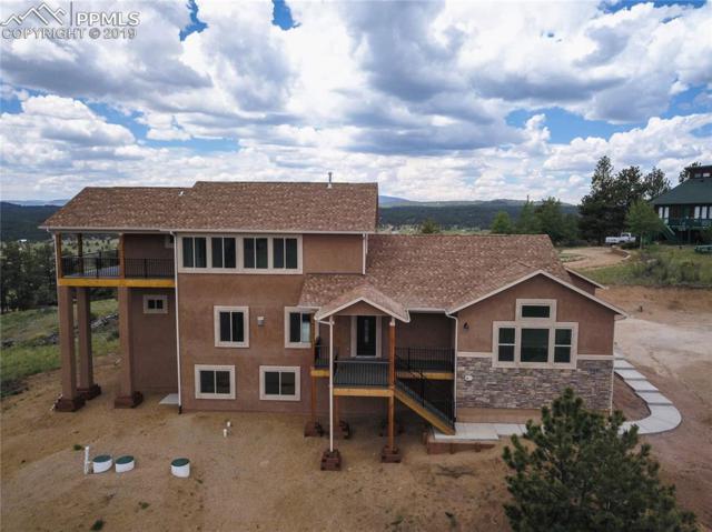 549 S Mountain Estates Road, Florissant, CO 80816 (#5992821) :: 8z Real Estate