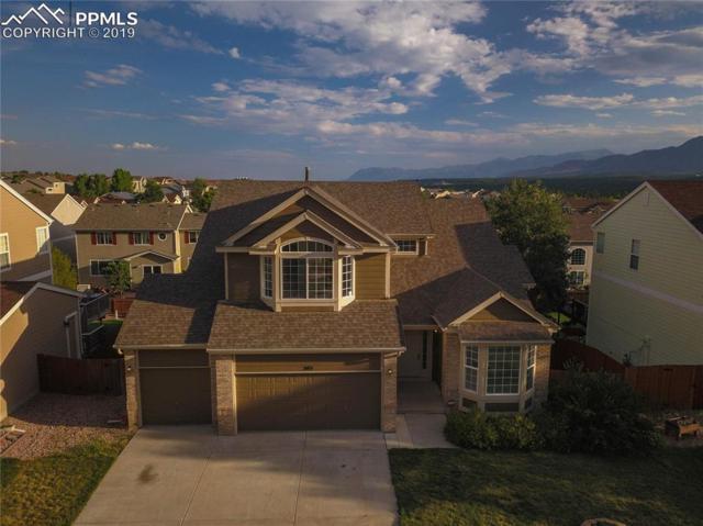 345 Sedona Drive, Colorado Springs, CO 80921 (#6078642) :: The Kibler Group