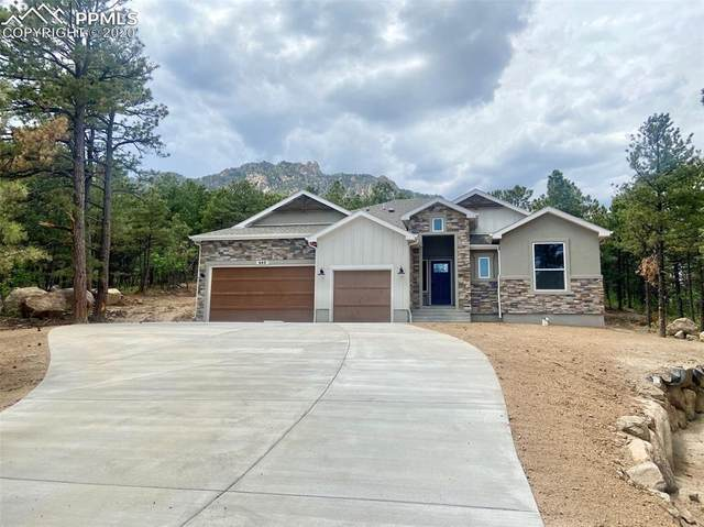 640 High Lonesome View, Colorado Springs, CO 80906 (#6190267) :: CC Signature Group
