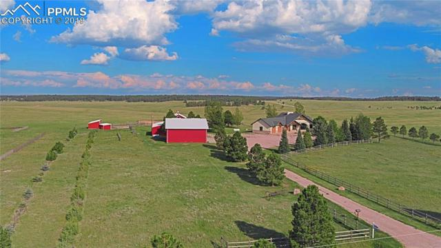 18020 County 1 Road, Elbert, CO 80106 (#6501457) :: The Kibler Group