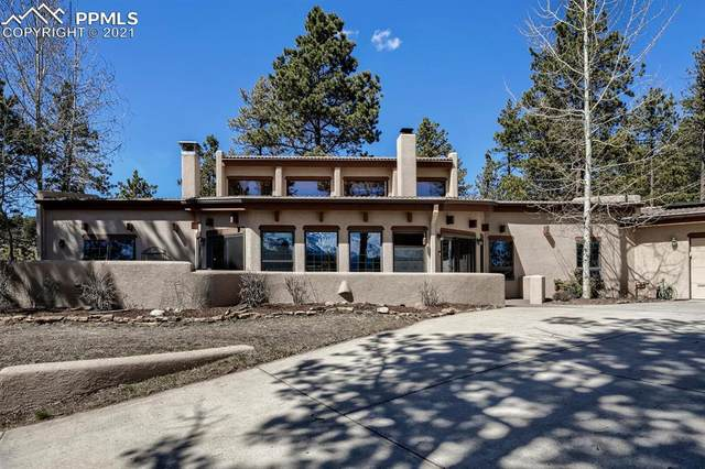 220 Sun Ridge Court, Woodland Park, CO 80863 (#6617130) :: The Daniels Team