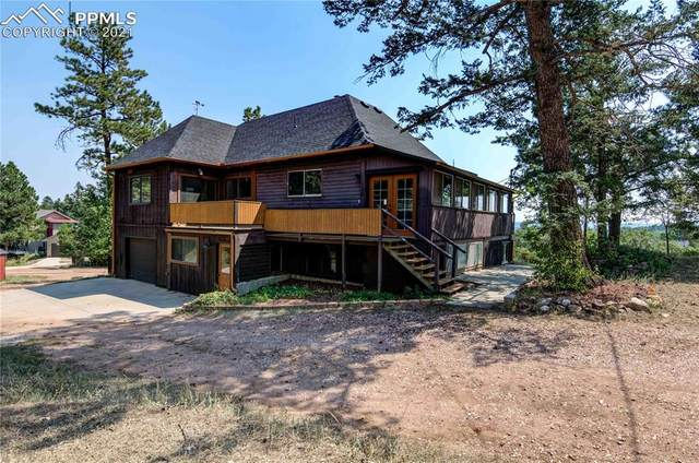 312 Buena Vista Avenue, Palmer Lake, CO 80133 (#6778023) :: Venterra Real Estate LLC