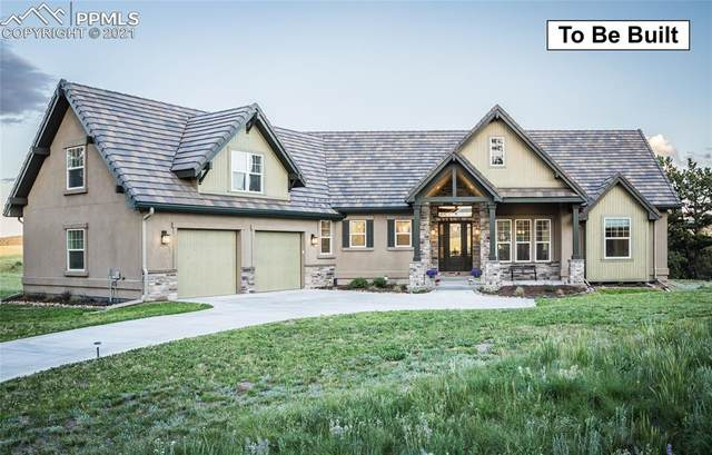 935 Locklin Way, Woodland Park, CO 80863 (#6876666) :: Tommy Daly Home Team
