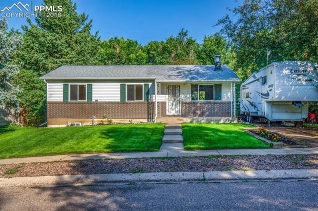 4014 Goldenrod Drive, Colorado Springs, CO 80918 (#6897782) :: The Hunstiger Team