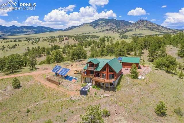 396-B Eagle Nest Trail, Guffey, CO 80820 (#6909963) :: Dream Big Home Team | Keller Williams