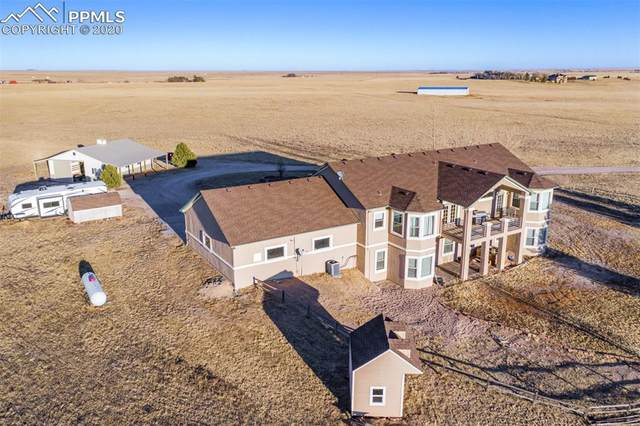 37450 Judge Orr Road, Calhan, CO 80808 (#7039731) :: Action Team Realty