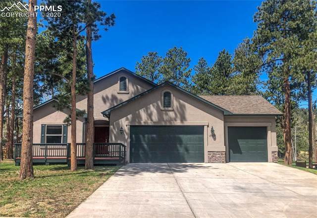 1182 Ptarmigan Drive, Woodland Park, CO 80863 (#7066313) :: Action Team Realty