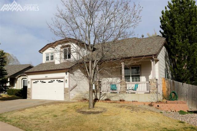 660 Piros Drive, Colorado Springs, CO 80922 (#7105728) :: The Peak Properties Group