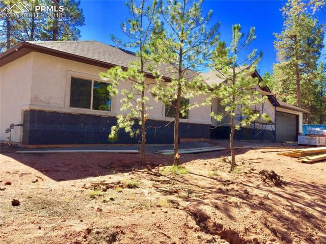 1351 Ridgestone Drive, Woodland Park, CO 80863 (#7506242) :: Jason Daniels & Associates at RE/MAX Millennium