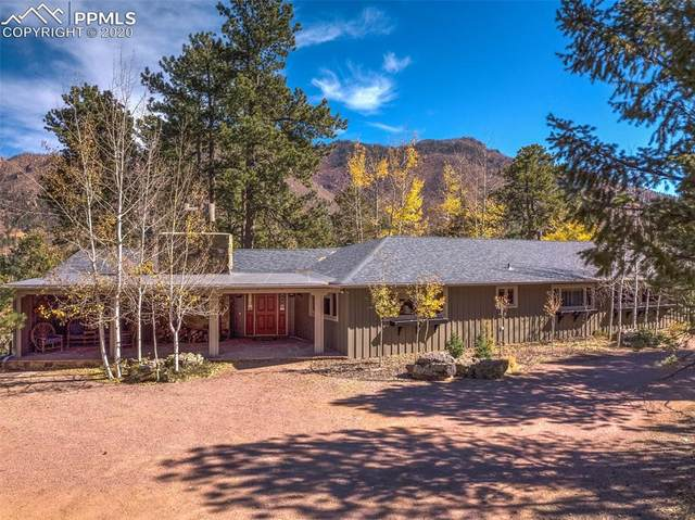 9005 Ute Road, Cascade, CO 80809 (#7513074) :: 8z Real Estate