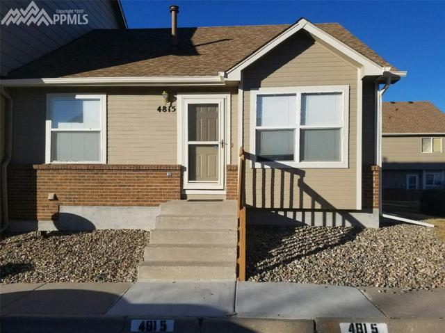 4815 Live Oak Drive, Colorado Springs, CO 80916 (#7726758) :: The Treasure Davis Team